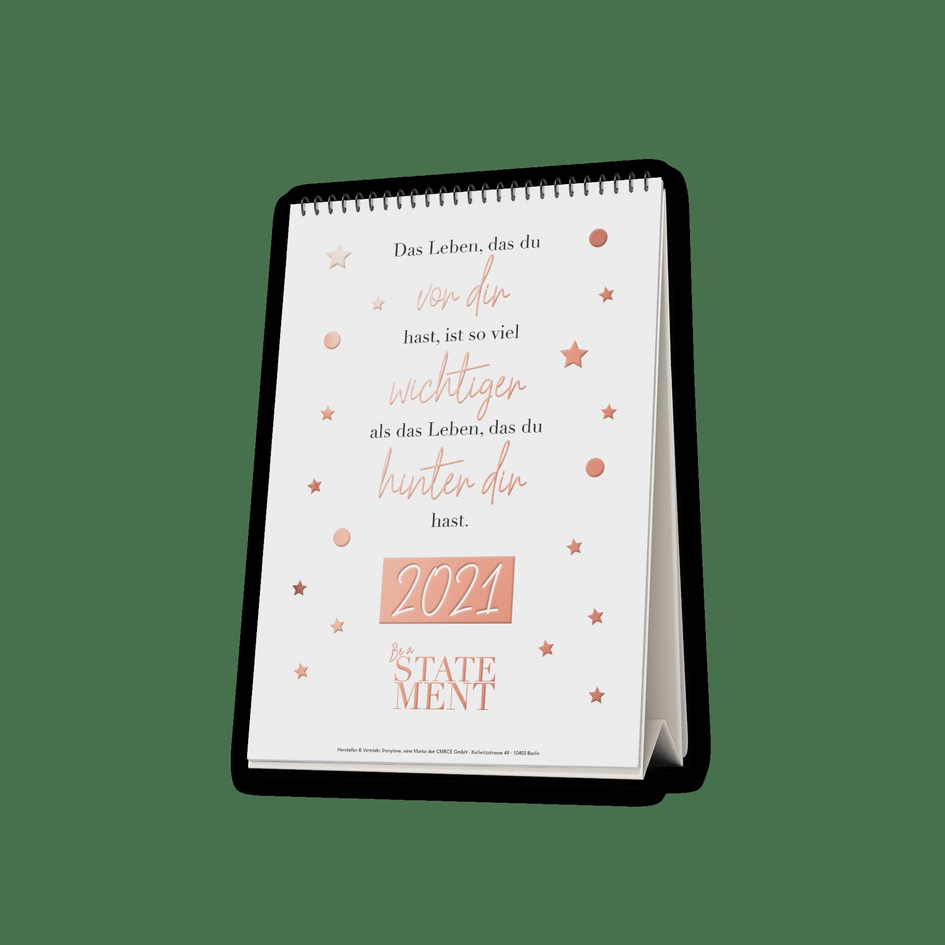 Sei du selbst  - Tischkalender