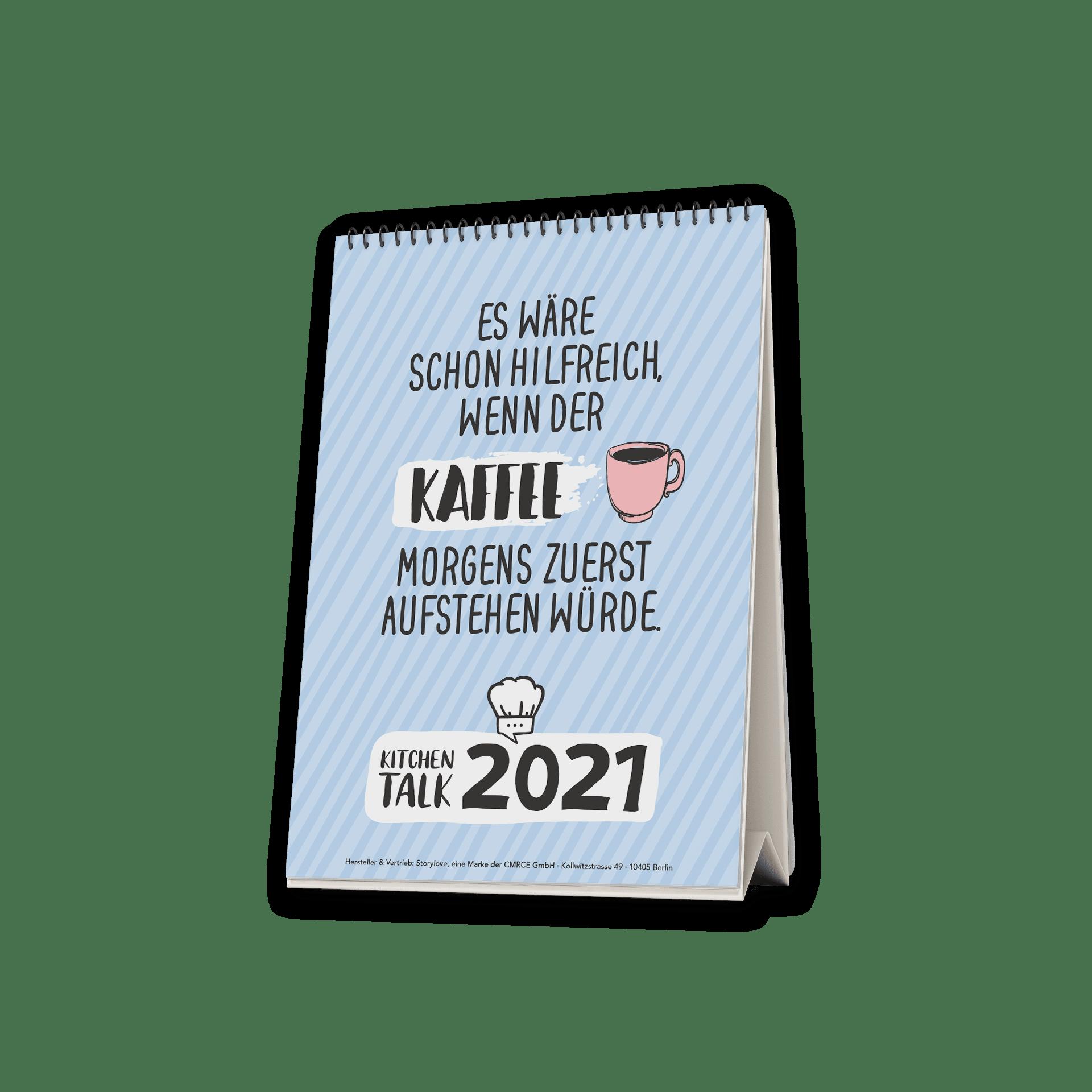 Coffeelover - Tischkalender