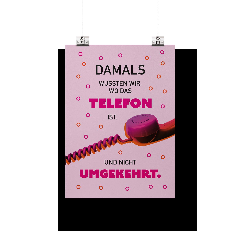 Damals wussten wir noch, wo das Telefon ist - Poster