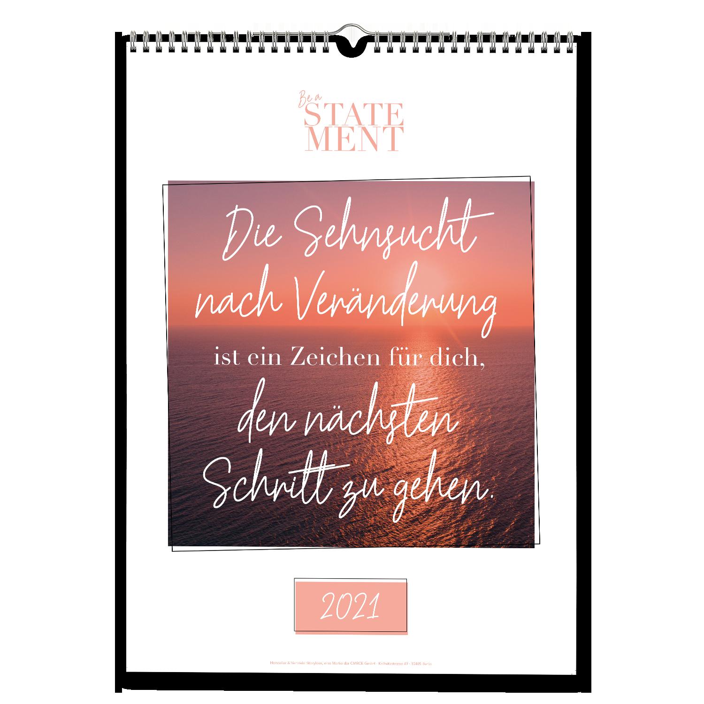Lebe die Veränderung - Wandkalender