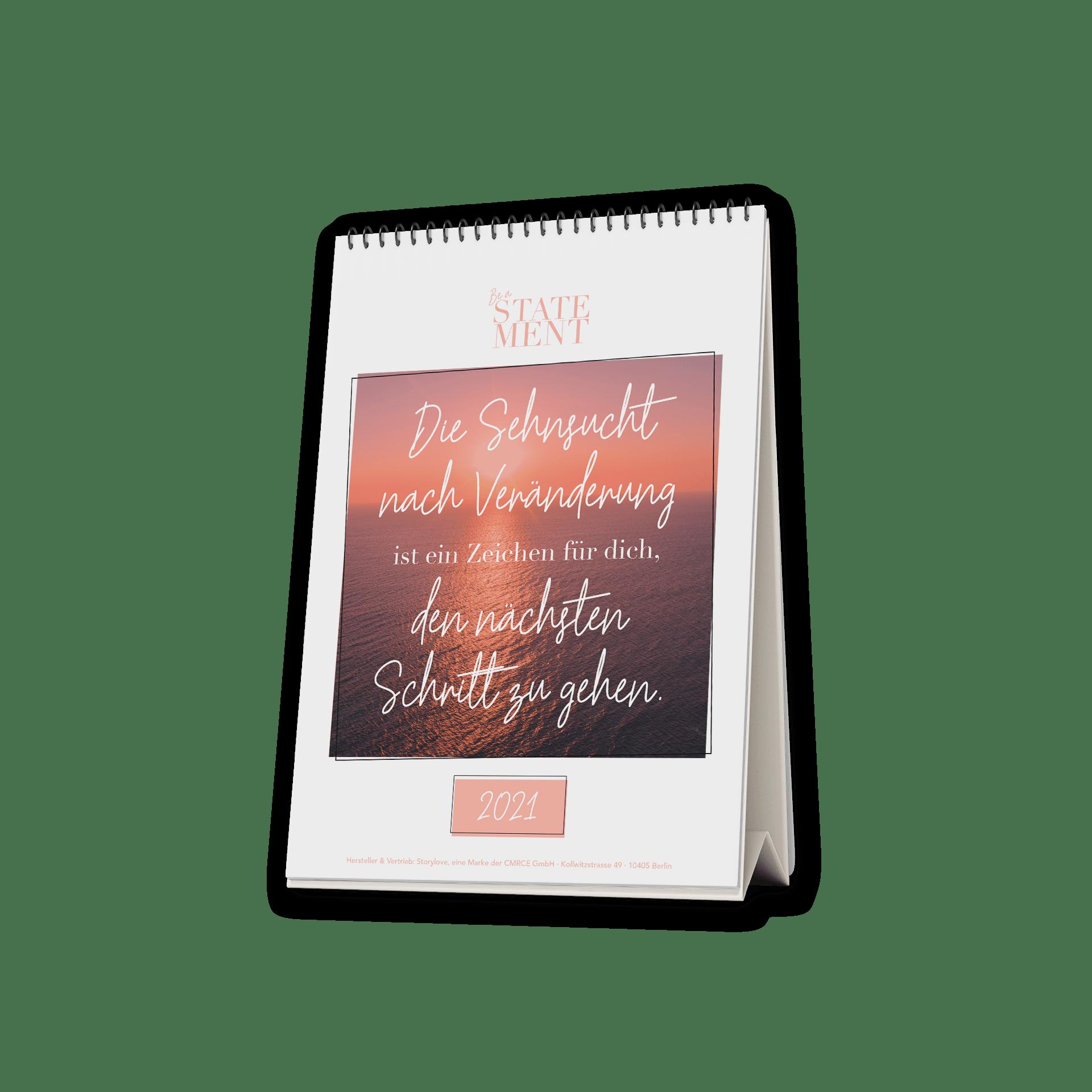 Lebe die Veränderung - Tischkalender